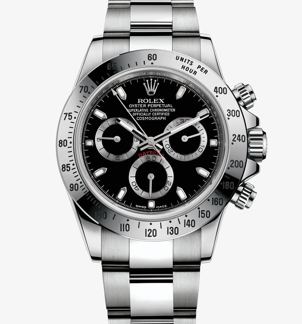 Replica Rolex Cosmograph Daytona Watch: in acciaio 904L - M116520-0015 [545d]