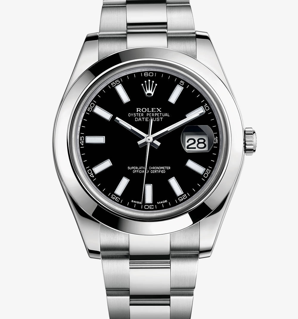 Replica Rolex Datejust II Watch: 904L staal - M116300-0001 [12aa]