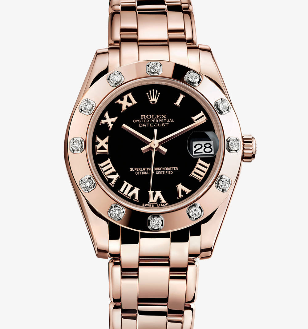 Replica Rolex Datejust Special Edition Watch: 18 ct ouro Everose - M81315-0015 [01c7]