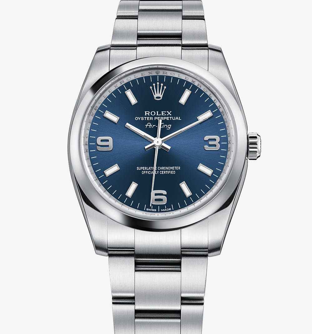 Replica Rolex Air-King Watch: 904L steel – M114200-0001 [508f]